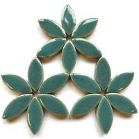H16 Phthalo Green 25mm Petal