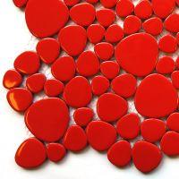 H401 Poppy Red Pebble
